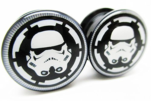 Storm Trooper Badge Screw Plugs product image