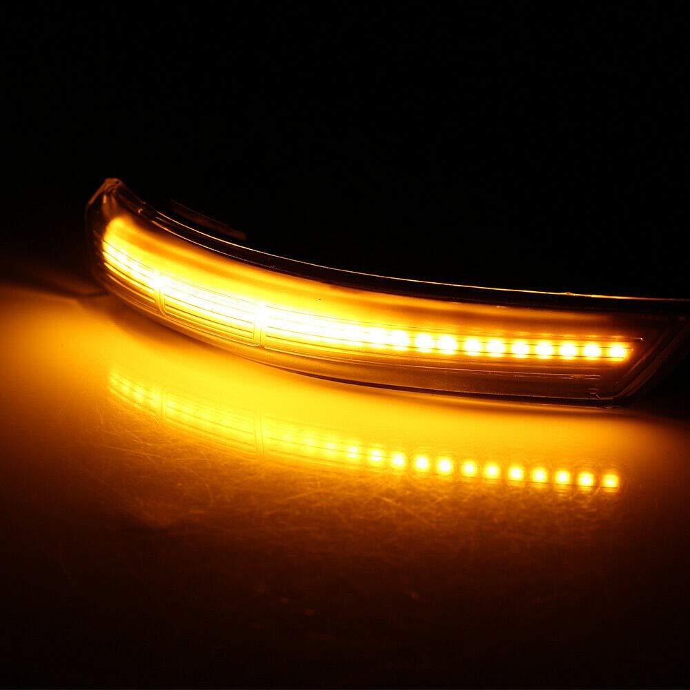 1 paire de clignotants dynamiques /à LED fum/é pour Focus 2008-2016