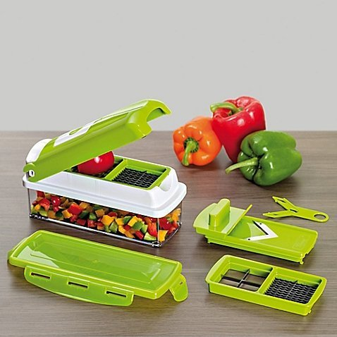 1-second-slicertm-bpa-free-plastic-stainless-steel-blades-6-cup-capacity-slicer