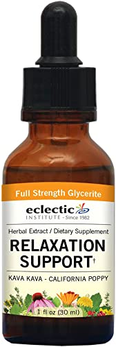 Eclectic Relaxation Support G, Green, 1 Fluid Ounce