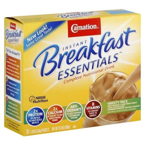 Carnation Complete Nutritional Drink Instant Breakfast 12.6OZ (Pack of 18) by Carnation