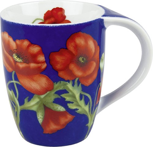 (Konitz Poppy Blossom Mugs, Set of 4)