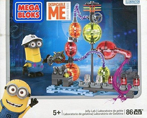 Mega Bloks Despicable Me Jelly Lab (Minion Gru)
