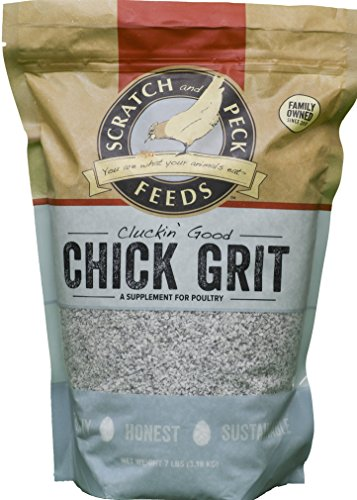 ds - Cluckin' Good Chick Grit Supplement for Chicks and Ducklings - 7-lbs ()