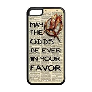 MMZ DIY PHONE CASECustomize Hunger Games Apple Case Suitable for iphone5C JN5C-1425