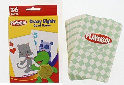 DDI Playskool Crazy Eights Card Game