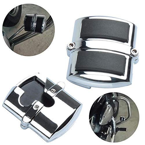 Frames & Fittings Motorcycle Brake Pedal Pad Cover for Honda VLX600 Shadow 750 Spirit Magna 1100 Sabre ACE Spirit for Kawasaki VN 750 900 1500