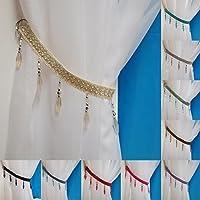 John Aird Crystal Beaded Curtain Tie Back