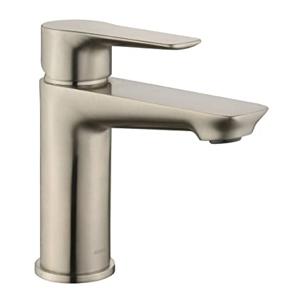 Keewi Modern Bathroom Faucet Single Handle Solid Brass Body