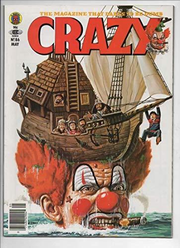 CRAZY #86 Magazine, VF, Obnoxio the Clown, Time Bandits, 1973 1982, more in store