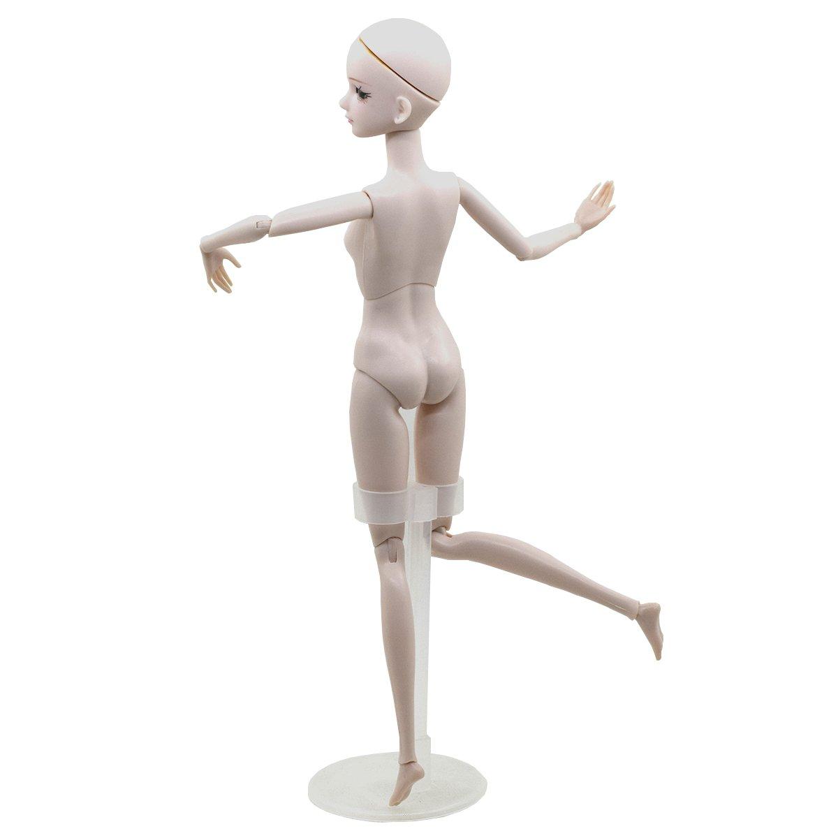 EVA BJD Customized Doll 1/6 SD Doll 11 inch Ball Jointed Dolls BJD Doll + Basic Makeup for DIY Dolls