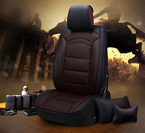 Set-Easy 5 seats car seat cushion filling and whole to clean leather Programmable Universal Fit seat covers car by YAOHAOHAO (Image #1)