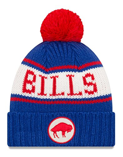 New Era Buffalo Bills NFL 9Twenty Historic Retro Patch Cuffed Knit ()