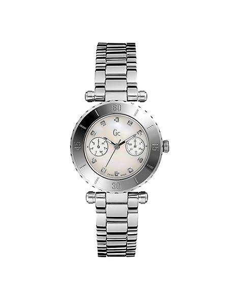 Guess Collection Reloj Analógico para Mujer de Cuarzo con Correa en Acero Inoxidable I30500L1: Amazon.es: Relojes