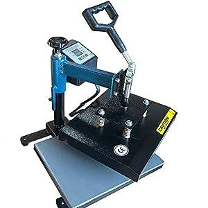 ePhotoInc Swing Away 9 x 12 T Shirt Heat Press Machine Transfer Sublimation Press 9x12BLK
