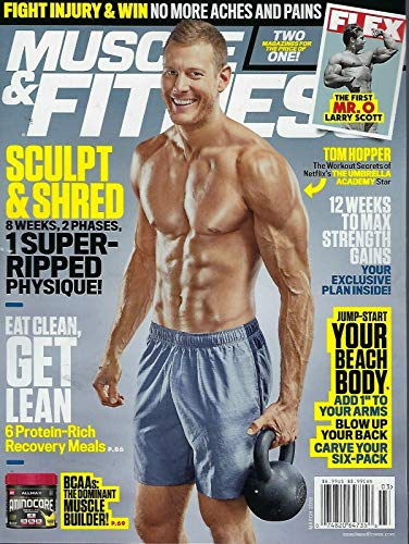 Muscle & Fitness Magazine March 2019 Tom Hopper (Muscle Fitness Magazine)