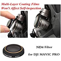HD ND4 Lens Filters Gimbal Camera Accessories for DJI MAVIC Pro Drone parts