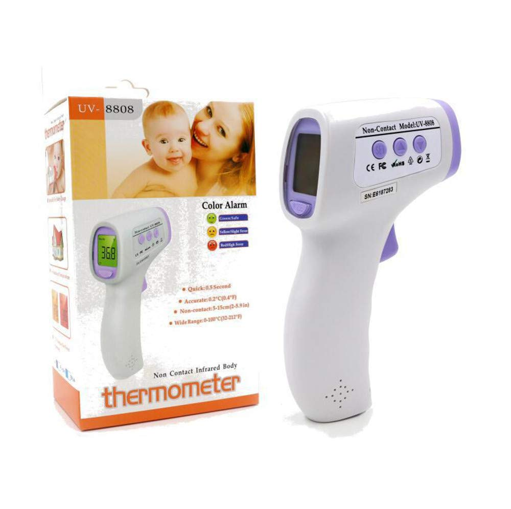 Lvbeis Forehead Digital Thermometer for Fever with Fever Alarm Infrared Body Temperature Thermometer for Baby//Kids//Adults//Objekt