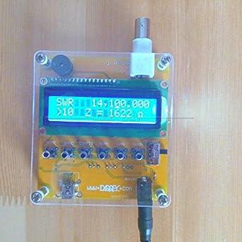 Amazon com: DP-iot MR100 Shortwave Antenna Analyzer Meter