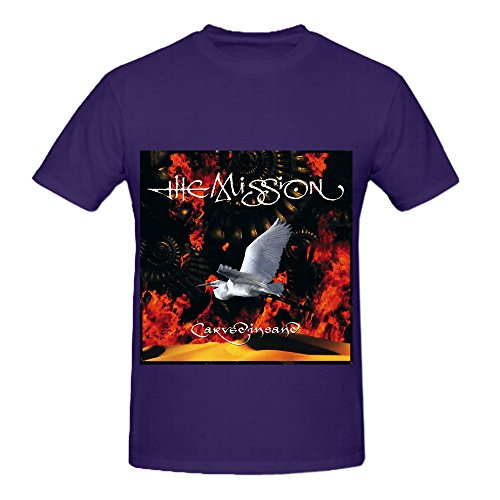 The Mission Carved In Sand Hits Men O Neck Art T Shirt Purple