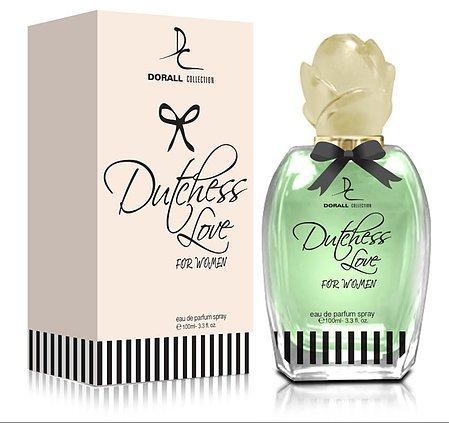 DUTCHESS OF LOVE BY DORALL COLLECTION PERFUME FOR WOMEN 3.3 OZ / 100 ML EAU DE PARFUM SPRAY