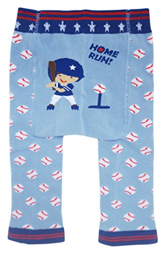 Huggalugs Baby or Toddler Boys Girls or Unisex Baseball Legging Pant 6-12m -