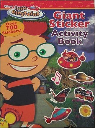 Little Einstein Giant Sticker Book by Playhouse Disney (2007
