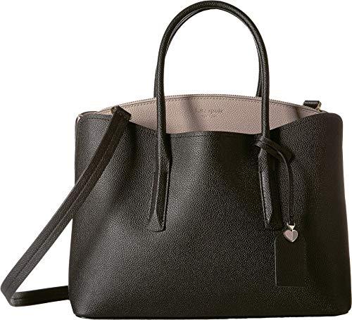 Black Satchel Handbag - 6