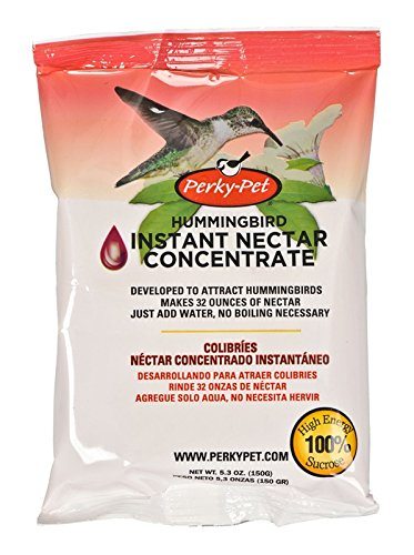 Perky-Pet 231 Packet Instant Nectar, 5.3-Ounce, Original Red (4, 5.3-Ounce)