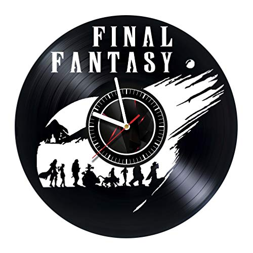 Amazon Com Vonaviroom Final Fantasy Vinyl Record Wall