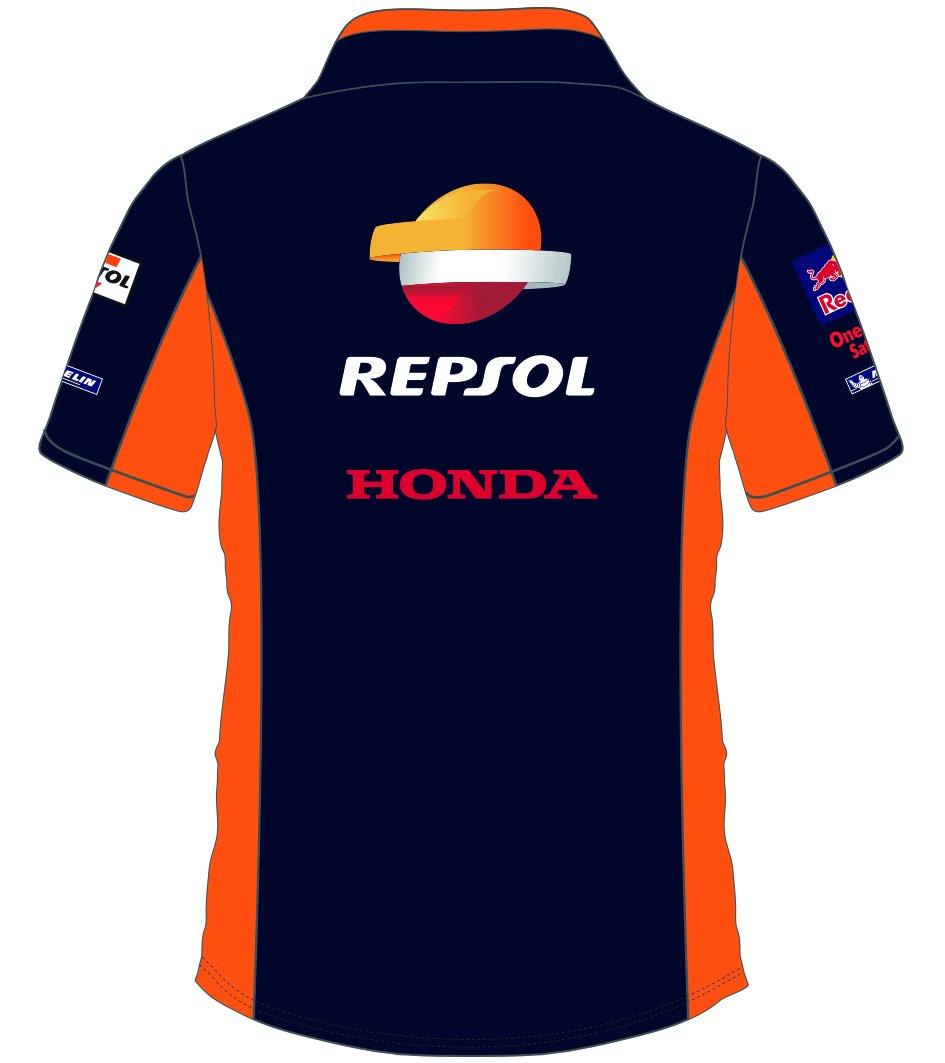 MotoGP Apparel Veste Polo Blue Team Repsol Bleu Taille XXL