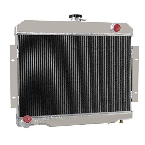 CoolingCare 3 Row Core Aluminum Radiator for 1972-1983 Jeep Scrambler CJ5/CJ6/CJ7 3.8L-5.0L