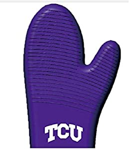 Fanpans MasterPieces NCAA TCU Horned Frogs, Oven Mitt/Grilling Glove, Purple