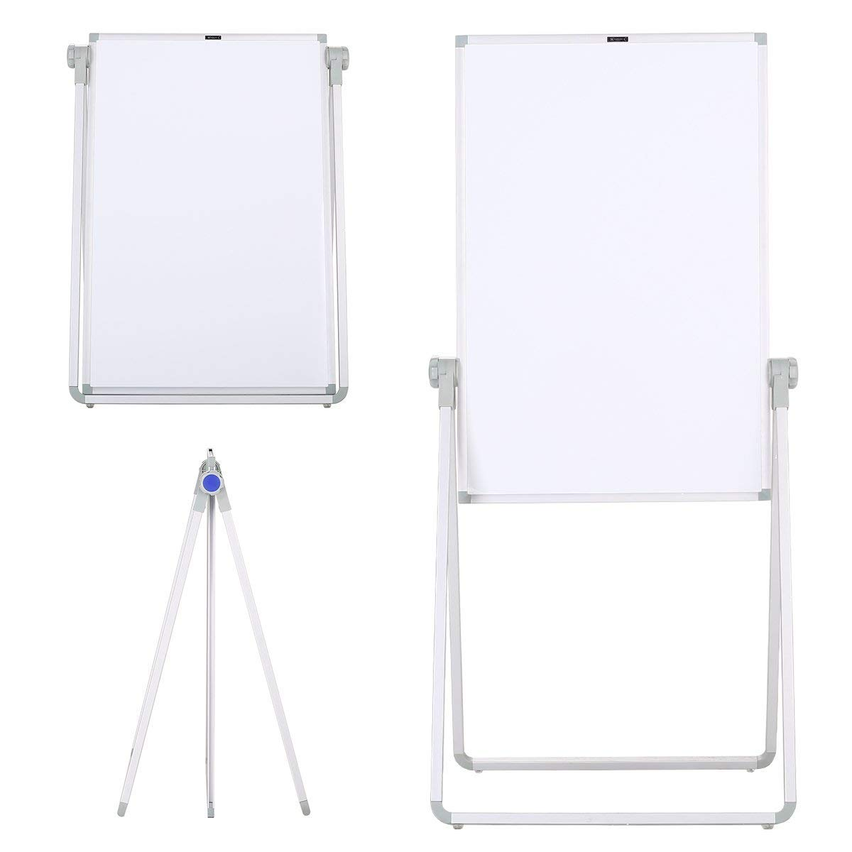 ZHIDIAN Magnetic whiteboard 36x24 Inch Dry Erase Boards with Stand Bulletin Aluminum frame Folding and convenient storage
