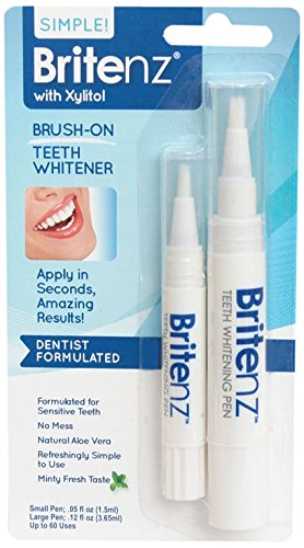 Amazon Com Britenz Natural Teeth Whitening Pen Combo Pack Beauty
