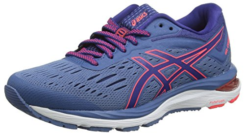 20 401 Azure Shoes Running Gel Blue Blue Cumulus Print Women's Asics Ctq6FF