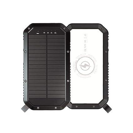 Lovewe - Cargador rápido solar compatible con iPhone 7/8/X ...