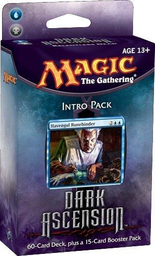 Magic the Gathering Dark Ascension DKA Sealed Intro Starter Deck Black Blue Relentless Dead by Magic: the Gathering