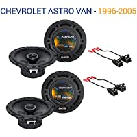 Chevy Astro Van 1996-2005 Factory Speaker Upgrade Harmony (2) R65 Package New