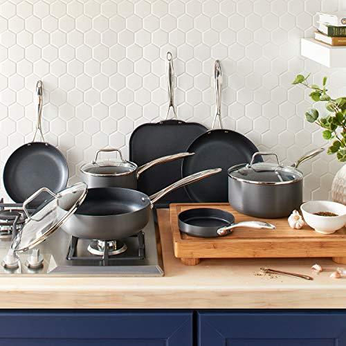 Stone & Beam Cookware Set, 17-Piece, Hard-Anodized Non-Stick Aluminum by Stone & Beam (Image #2)