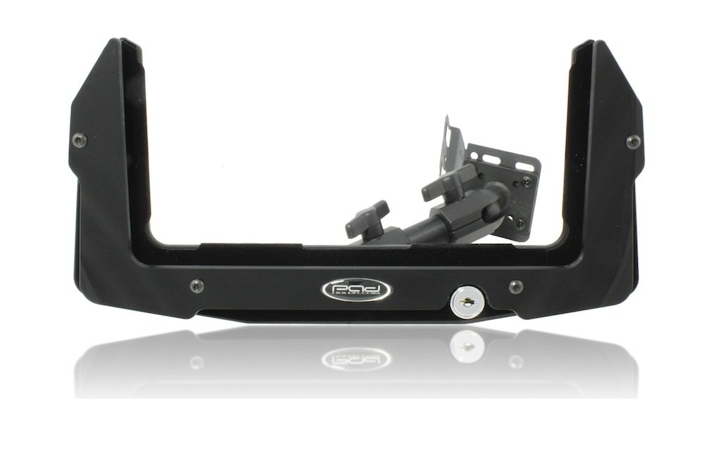 Padholdr Utility Series Premium Locking Tablet Dash Kit for 2010-2012 Chevrolet Camaro