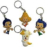 Bubble Guppies Keychains 4 Pcs Set #2