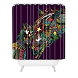 Deny Designs Sharon Turner Horse Love Shower Curtain , 69'' x 90''