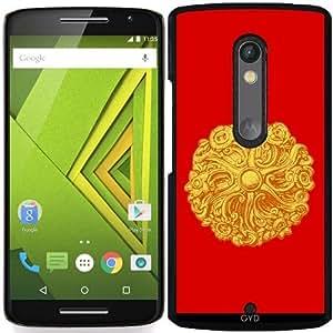 Funda para Motorola Moto X Play - Oro Rosa by hera56