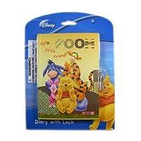 Disney Winnie the Pooh Diary con Lock - Pooh Bear, Eeyore, Tigger y Piglet