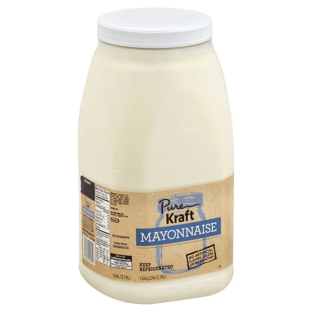 Kraft Pure Mayonnaise, 1 Gallon -- 4 per case.