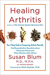 Book Cover: Healing Arthritis: Your 3-Step Guide to Conquering Arthritis Naturally