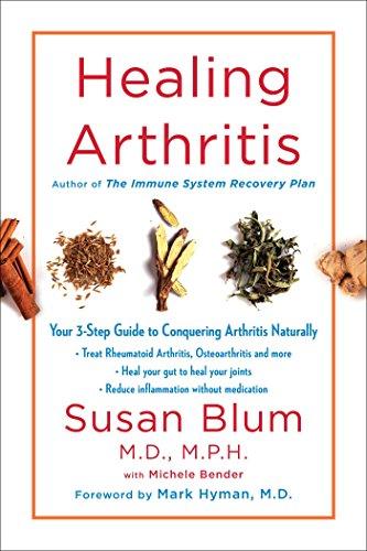 Book Cover: Healing Arthritis: Your 3-Step Guide to Conquering Arthritis Naturally