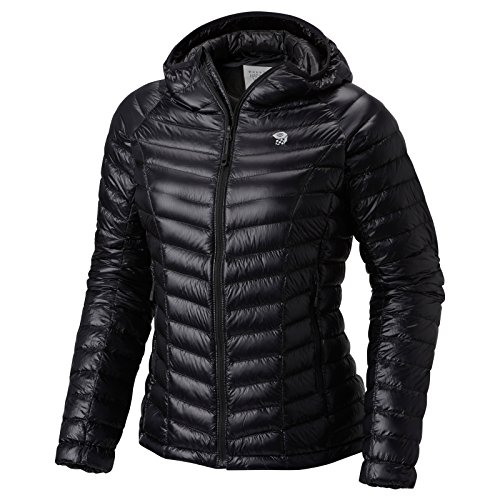 Mountain Hardwear Ghost Whisperer Down Hooded Jacket - Women's, Black 099, Large - Ghost Whisperer Down Jacket
