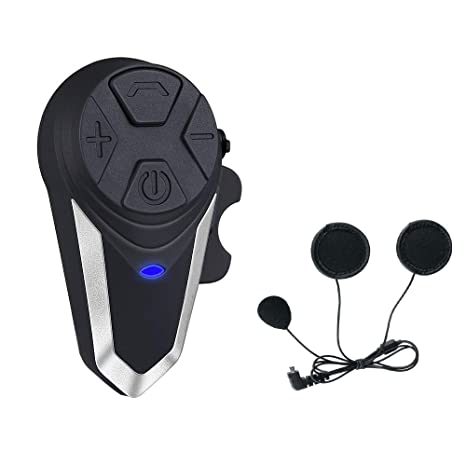 Moto Headset Bluetooth BT-S3 Cascos Moto Telefono Radio FM Impermeable Intercom Headset (1